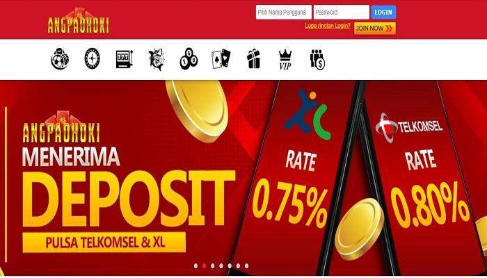 Deposit Via Pulsa Tanpa Takut Offline Di Bandar Judi Slot Online Angpaohoki