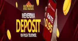 Deposit Pulsa Di Agen Slot Online ANGPAOHOKI Dengan Rate Tergila 0.95%, DAFTAR SEKARANG !!