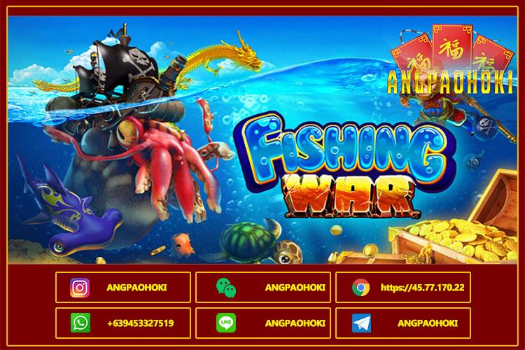 Tips dan Perkenalan Judi Slot Fishing War Dari SpadeGaming